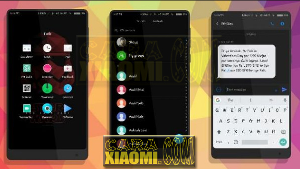 Download Link Tema Xiaomi Redmi Star Wars For Redmi Theme V9 / V8