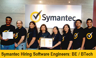 Symantec Software India Hiring Software Engineers