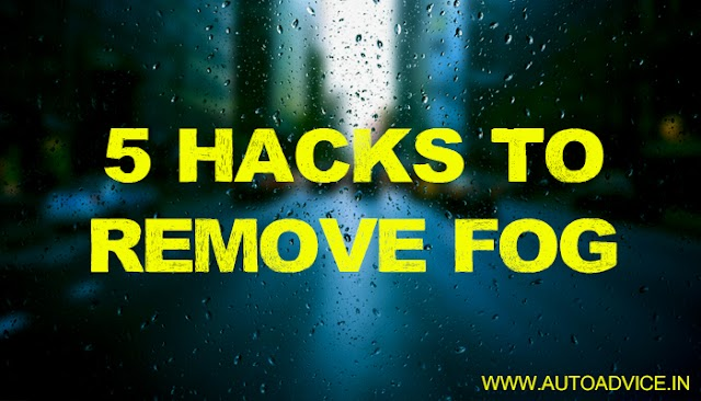 5 hacks to Remove Fog from a Car Windshield during winters