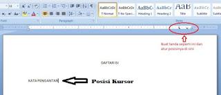 Cara membuat titik-titik otomatis di Microsoft Word