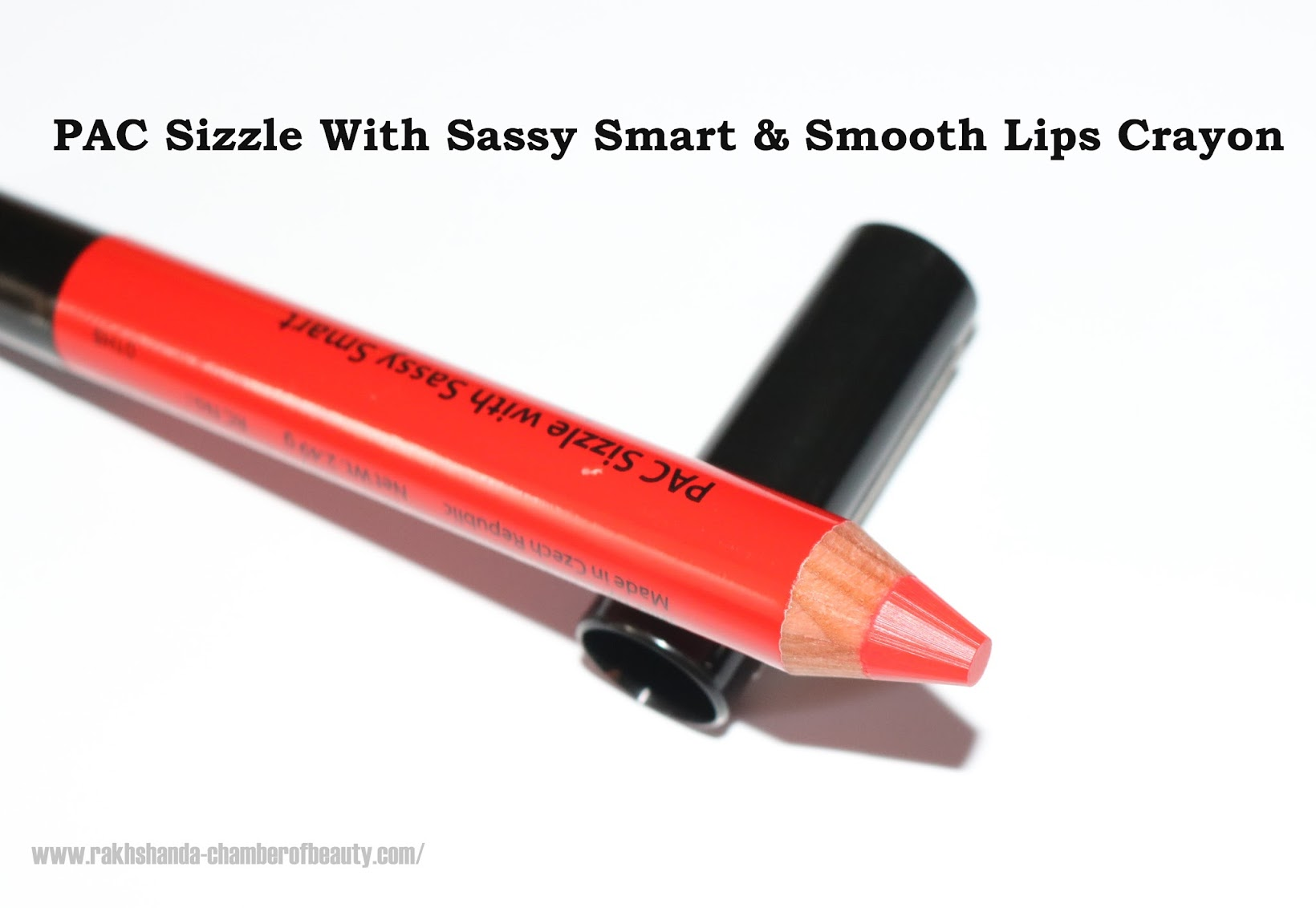 Pac Cosmetics Sizzle With Smart & Sassy Lips-Love Seeker Review Swatches & More, PAC Cosmetics India, Bright red lipcolours in India, Indian beauty blogger