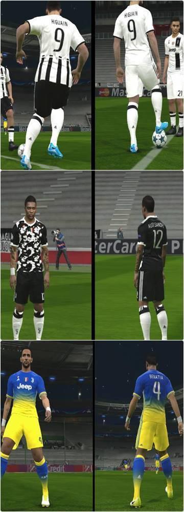 Juventus Kit PES 2017