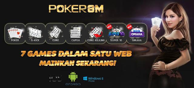 Poker8m | daftar poker online | domino | capsa Poker8M%2B-%2B7%2BGame