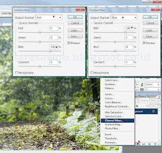 2 Langkah Mudah Membuat Efek Infrared Dengan Photoshop