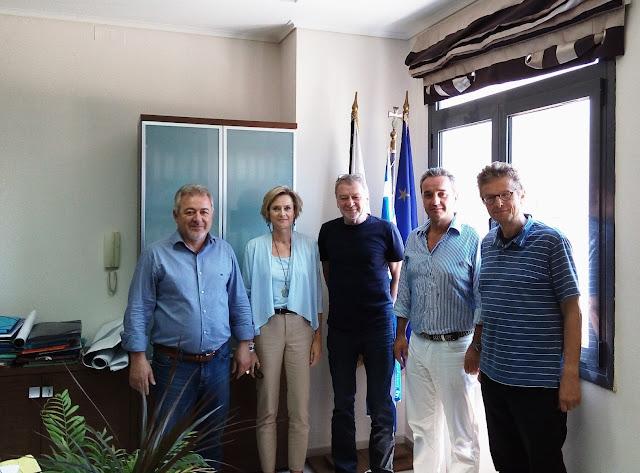 Συνάντηση Δημάρχων Ηγουμενίτσας και Φιλιατών, με αντιπροσωπεία της Ελληνογερμανικής Συνέλευσης