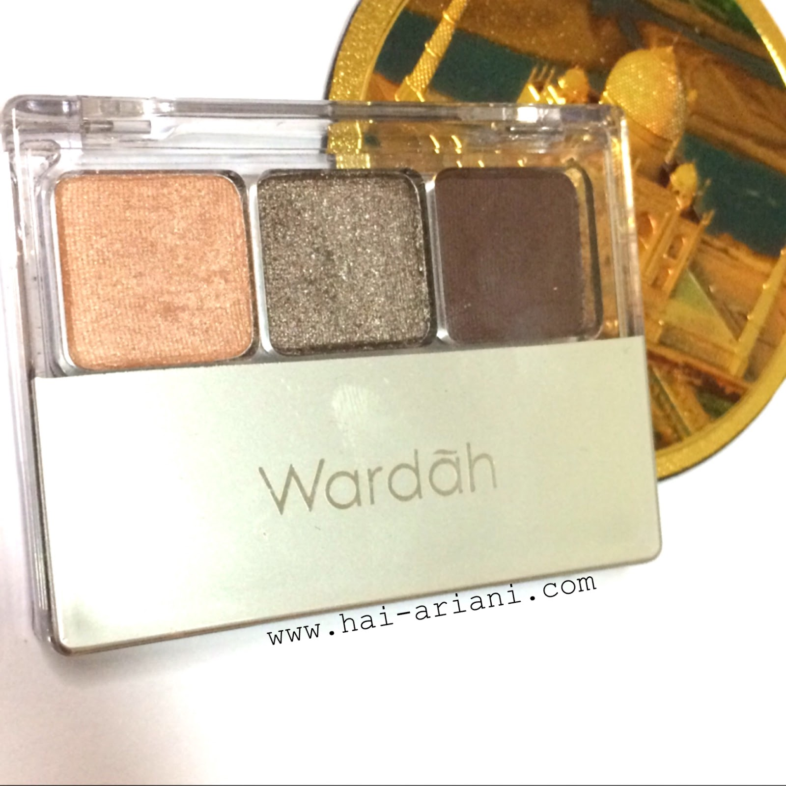 WARDAH NUDE COLOURS EYESHADOW PASSIONATE REVIEW
