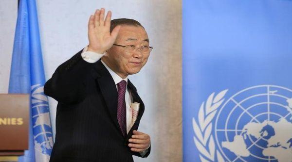 ONU despide este viernes a Ban Ki-moon como secretario general