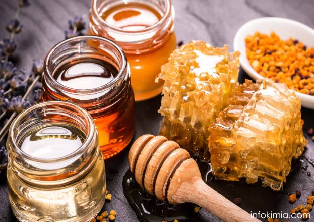 kandungan kimia dalam madu