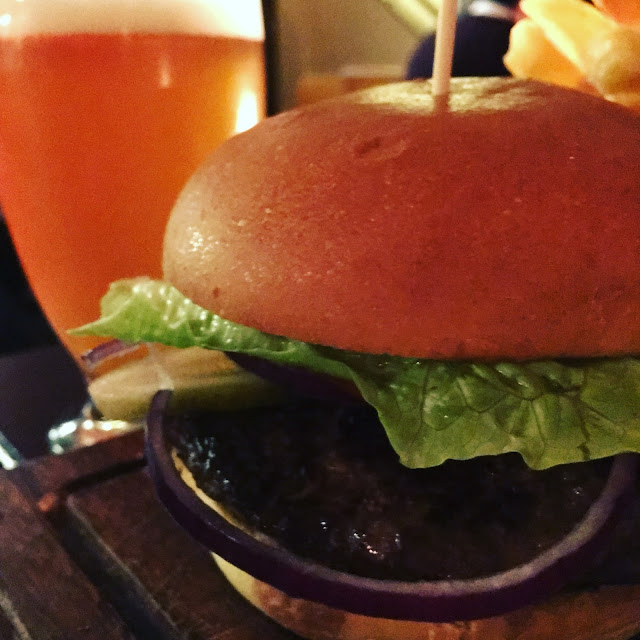 Restaurant review - Soho Joe. Wagyu Burger