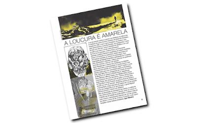 Revista da Cultura com a reportagem sobre O Rei Amarelo em Quadrinhos