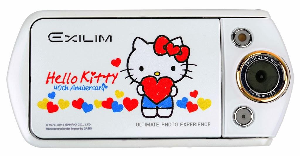 a2c1b2f4fbda Hello Kitty 40th Anniversary EXILIM EX-TR15 Premieres Singapore