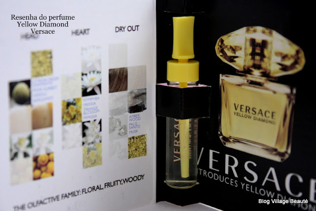 RESENHA DO PERFUME EAU DE TOILETTE YELLOW DIAMOND VERSACE