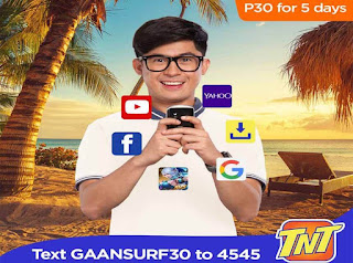 Talk N Text GaanSurf30
