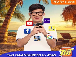 Talk N Text GaanSurf30 – 5 Days Mobile Internet for only 30 Pesos