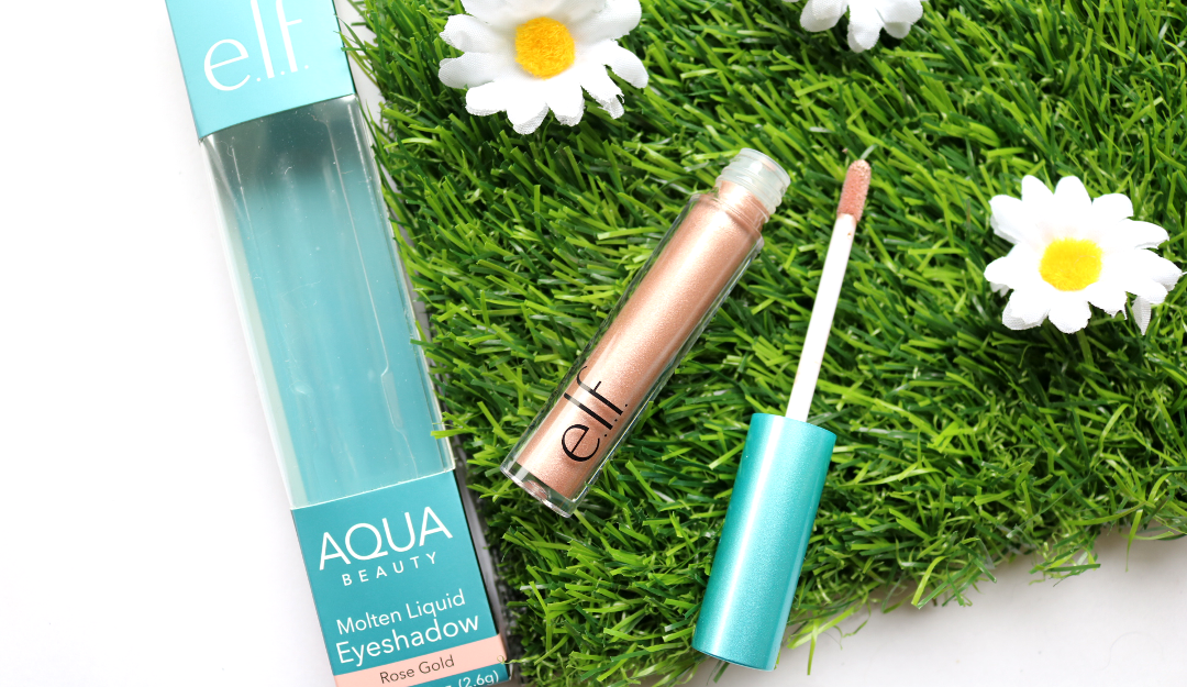 e.l.f Aqua Beauty Molten Liquid Eyeshadow in Rose Gold