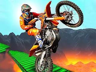 İmkansız Motor Yarışı 3D - Impossible Bike Racing 3D