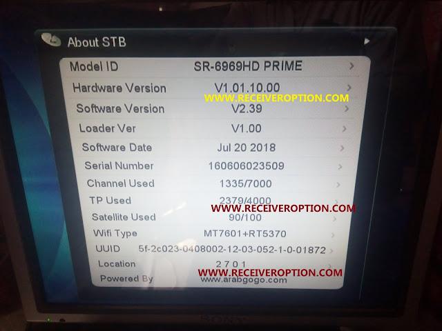 STAR SAT SR-6969 HD PRIME AUTO ROLL POWERVU KEY FIX NEW SOFTWARE