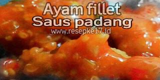 fillet ayam saus padang
