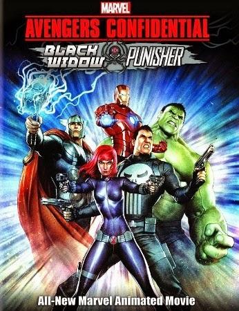 Download Os Vingadores Confidencial Viúva Negra & Justiceiro BDRip Dublado
