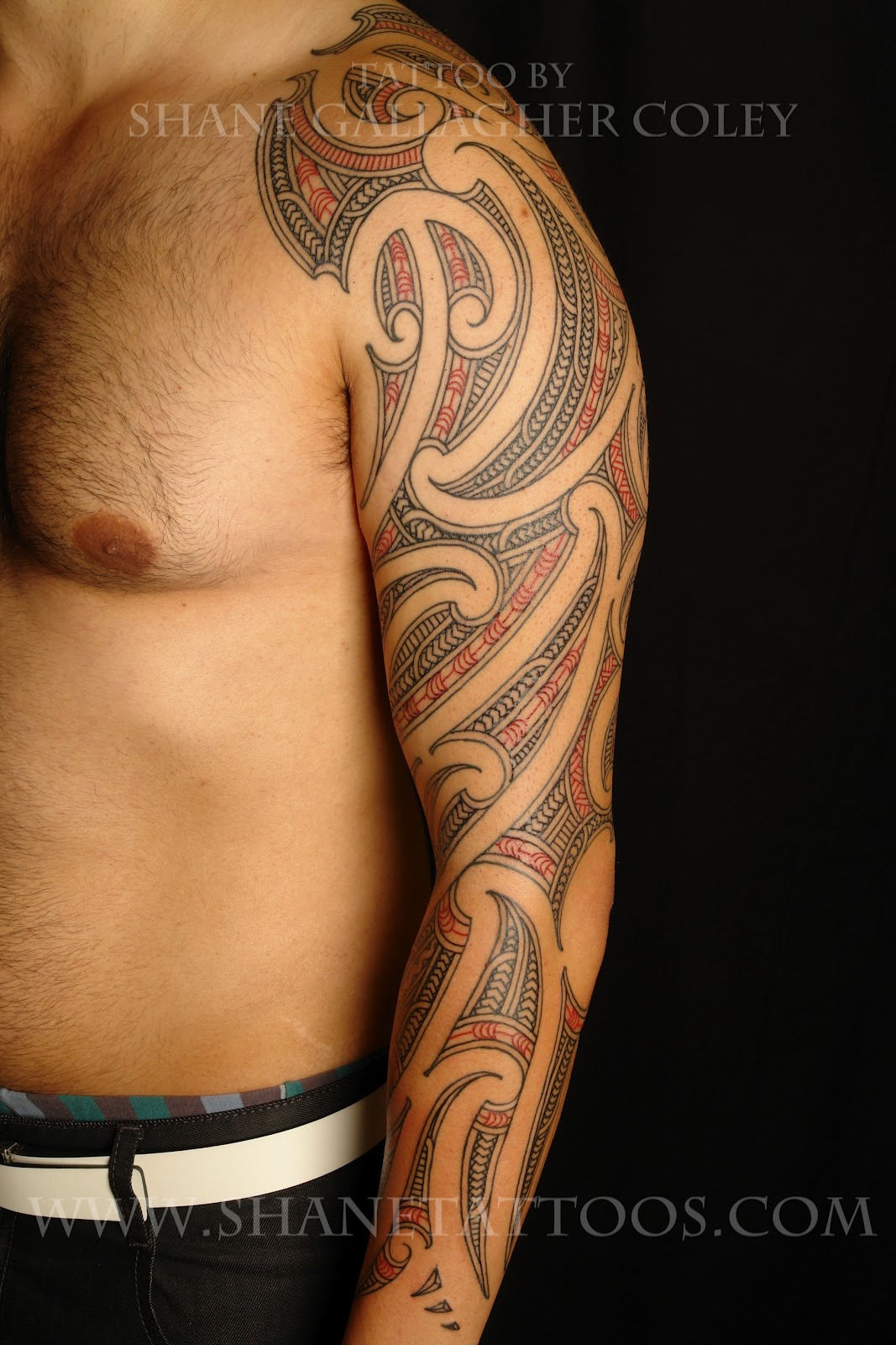 Maori Tattoo Sleeve: MAORI POLYNESIAN TATTOO: Maori Sleeve Tattoo On Matt