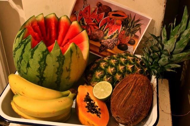 fruit painting msmarmitelover's Frida Kahlo supperclub