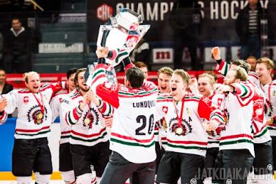 HOCKEY HIELO - Champions Hockey League 2015-2016. Frölunda se vengó ante el Kärpät en la final de la CHL