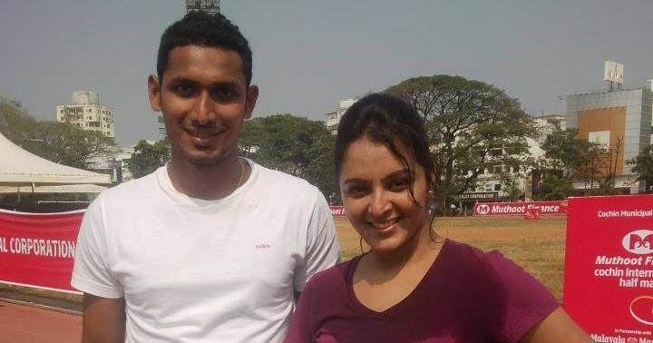 Manju Warrier Latest Hot Photos From Cochin Half Marathon