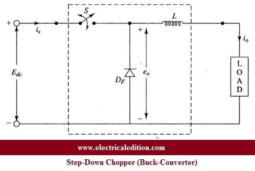 Buck Converter ( Step-Down Chopper ) Circuit Diagram
