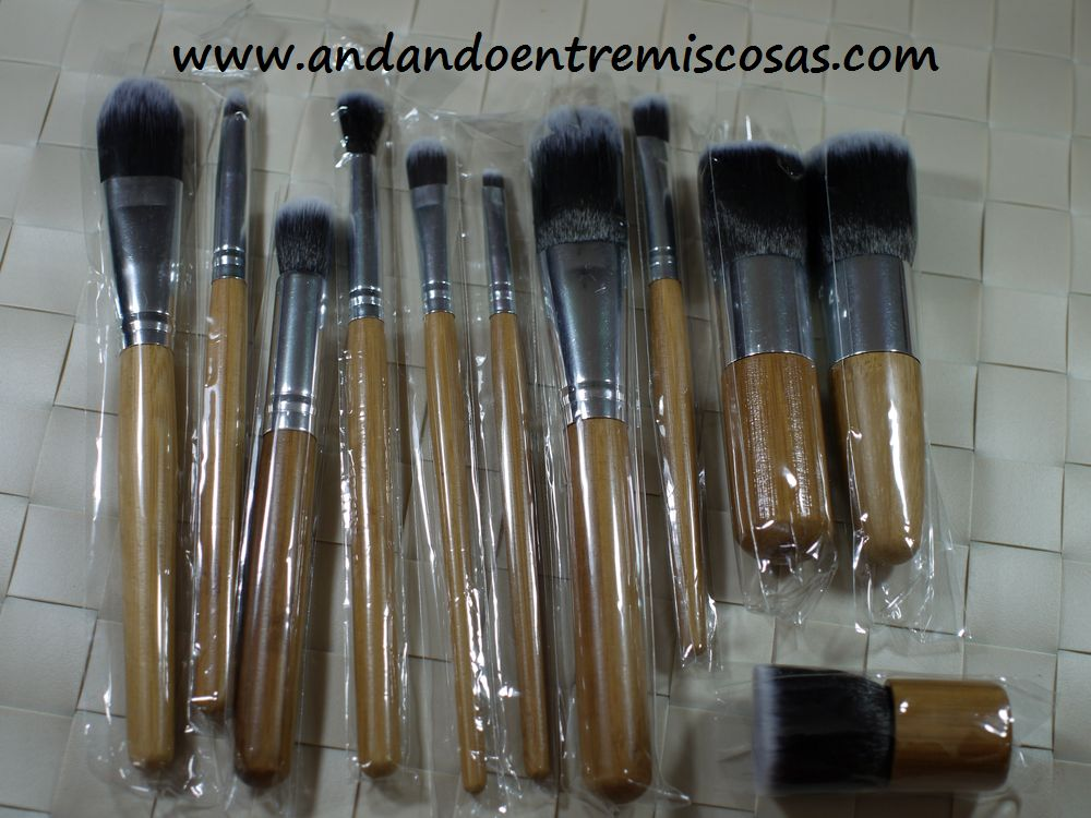 Set de brochas Rosewholesale