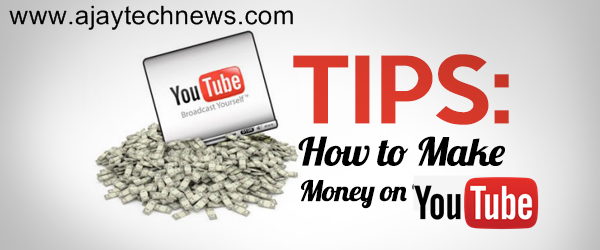 earning online on youtube