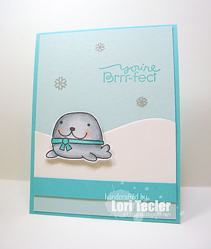 You're Brrr-fect card-designed by Lori Tecler/Inking Aloud-stamps and dies from Paper Smooches