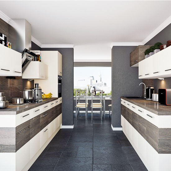 Relax n rave understanding kitchen layouts for Galley kitchen ideas uk