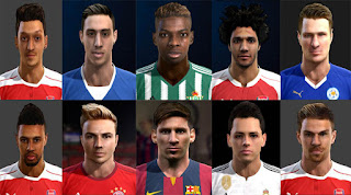 International Facepack 2016 Pes 2013 By Vicen