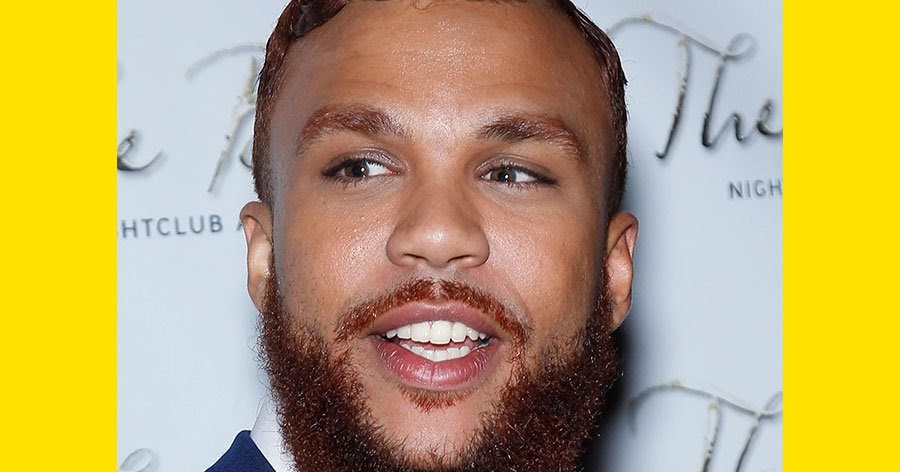 Jidenna Have Natural Red Hair