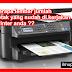 cara melihat berapa lembar kita melakukan cetak atau printing pada printer epson