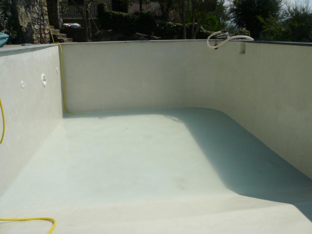 Cerem costruzioni srl costruzione di piscina nel paesino di nozarego sulle alture di santa - Del taglia piscine ...