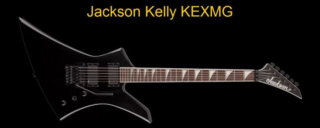 Guitarra Modelo Explorer Jackson de la Serie Kelly