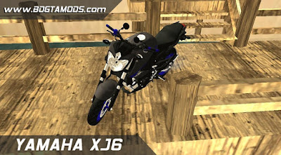 GTA - SA XJ6 BLUE RACING 3