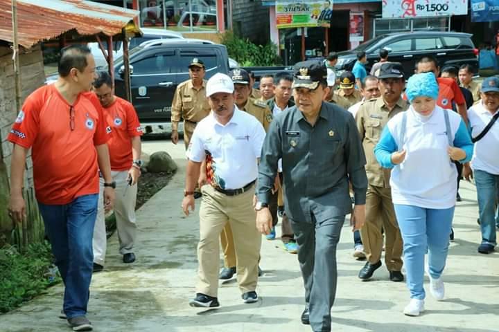 Bupati Kerinci Adirozal Dampingi Tim Survei Tour de Singkarak