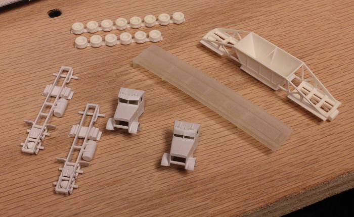 N Scale Addiction: 3d Printed Models - Basic Finishing Steps
