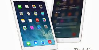 Apple memang telah memperkenalkan tablet terbarunya yaitu iPad Air pada  beberapa hari yang lalu yang hadir dengan beberapa perubahan besar dari  sisi desain ... 71bb228382
