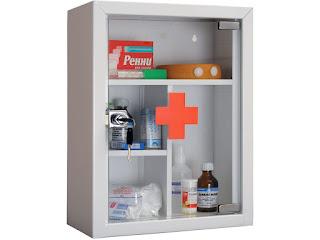 аптечка - ящик с лекарствами