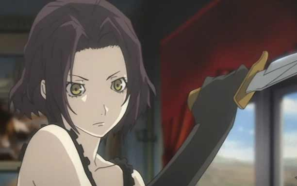 Karakter Anime Pengguna Pisau - Chane Laforet