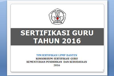 Download Panduan Sergur 2016 Pola PLPG dan PPG