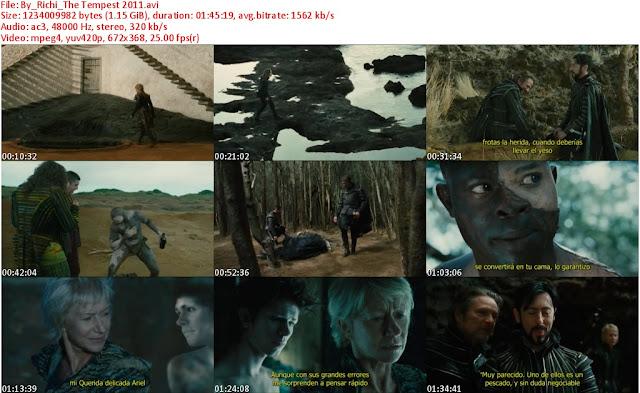 The Tempest [La Tempestad] [2011] Subtitulos Español [DVDRip]