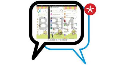 BBM Mod Keroppi Whatsapp 2.13.1.14 Apk Change Theme