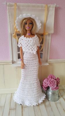 ganchillo Wvnonym80 de Vestidos de fiesta Barbie para PXwN8n0Ok