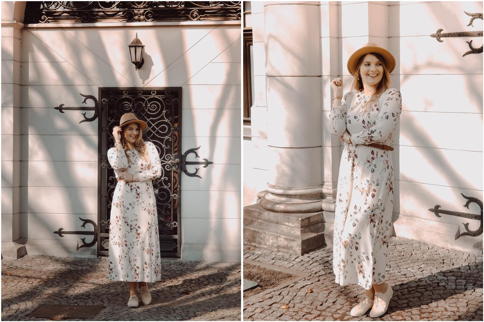 10b sukienka maxi w kwiaty answear dodatki cena jakosc promocje