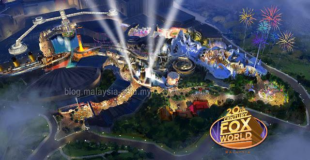 20th Century Fox World Map