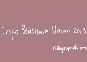 Info Beasiswa Universitas Tanjungpura 2019